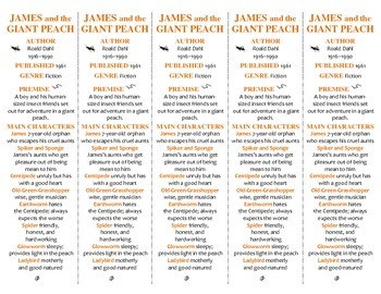 James and the Giant Peach edition of Bookmarks Plus—A Hand