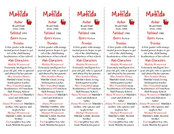 Matilda edition of Bookmarks Plus—A Very Handy Readiing Aid!