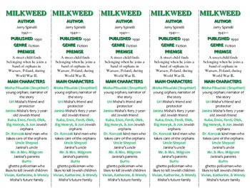 Milkweed edition of Bookmarks Plus—A Handy Little Reading Aid!