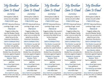 My Brother Sam Is Dead edition of Bookmarks Plus—Handy rea