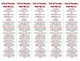 Roll of Thunder, Hear My Cry edition of Bookmarks Plus—A H