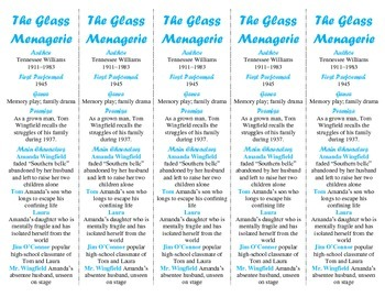 The Glass Menagerie edition of Bookmarks Plus—Use w/TGM An
