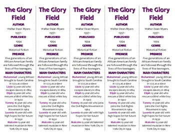 The Glory Field edition of Bookmarks Plus—A Handy Little R