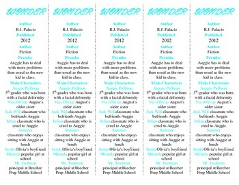 Wonder edition of Bookmarks Plus—A Very Handy Little Reading Aid!