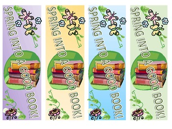 Bookmarks - Spring Into a Good Book