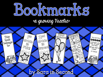 Bookmarks {a growing freebie}