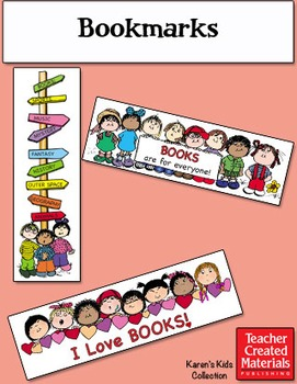 Bookmarks by Karen's Kids (Digital Download)
