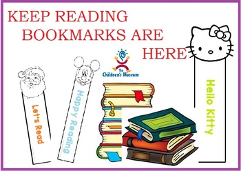 Bookmarks -  colorable