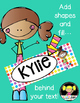 Bookmarks for Kids {Editable}