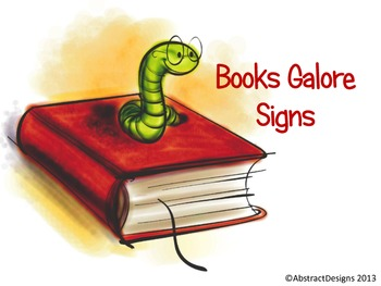 Books Galore Signs
