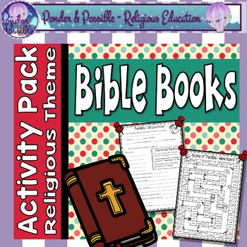 Books of The Bible - Activities for The Old and New Testament