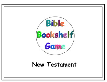 Books of the Bible Sorting Game