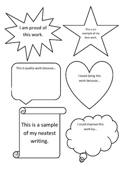 Bookwork Reflection Shapes
