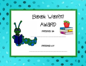 Bookworm Award