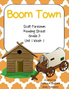 Boom Town : Reading Street : Grade 3