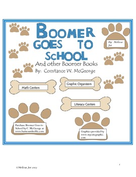 Boomer Goes to School--Back to School Math and Literacy Ac