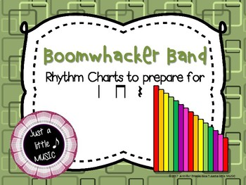 Boomwhacker band -- reading practice charts preparing for