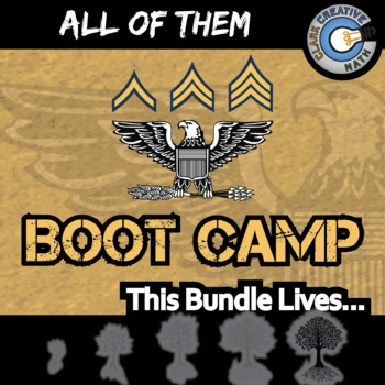 Boot Camp -- ALL OF THEM -- Grades (3-12) -- Differentiate