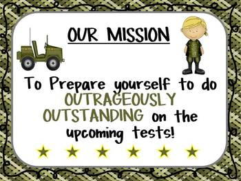 Boot Camp I CAN and MISSION Poster