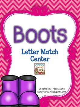 Boots-Letter Matching Center