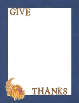 Border Bundle - Thanksgiving