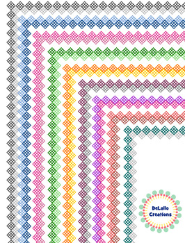 Border- Checkered Diamond Package (all colors)