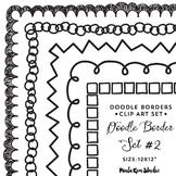 Doodle Border Set #2 - Square
