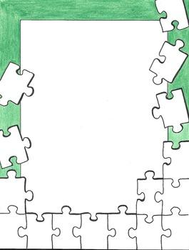 Border - Puzzled
