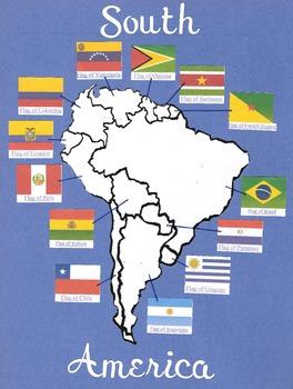 Border - Continent South America 1