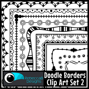 Borders Clip Art for Commercial Use