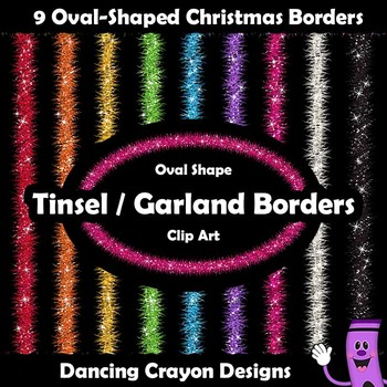 Borders: Christmas Borders (Oval)