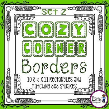 Square Borders {Cozy Corner  Set 2}