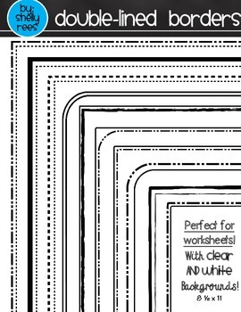 Borders - Double-Lined Border Pack
