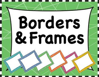 Borders & Frames Set #2