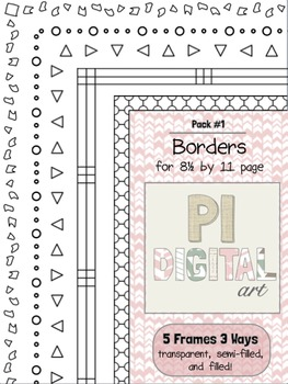 Free Borders - Pack 1