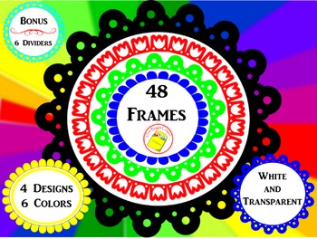 Artistic Borders III - Decorate Your Products and Highligh