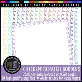 Borders: KG Chicken Scratch Borders