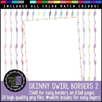 Borders: KG Skinny Swirl Borders 2
