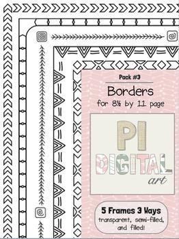 Borders - Pack 3