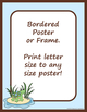 Borders or Frames – Editable – Coordinates with Turtle Tim