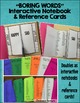 Boring Words Interactive Notebook & Reference Cards