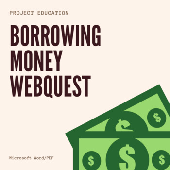 Borrowing Money Webquest