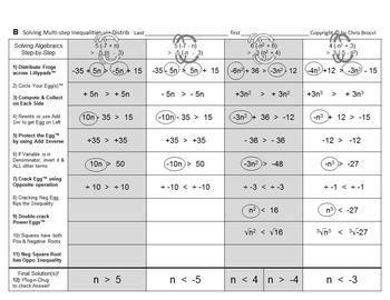 Brocci Bundles: Algebra - Algebra BIG Bundle (51 L, 132 WS