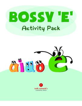 Bossy E Activity Pack