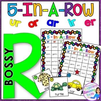 Bossy R Literacy Station