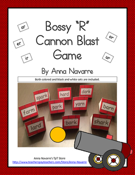 "Bossy ""R"" Cannon Blast Game"