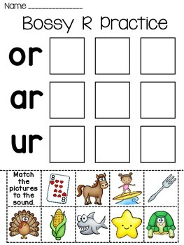 The Hurt Bird - r-Controlled Vowels} - Printables