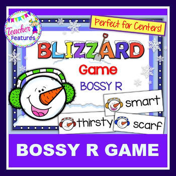 Bossy R Game (R Controlled Vowels): Snowman & Blizzard Theme
