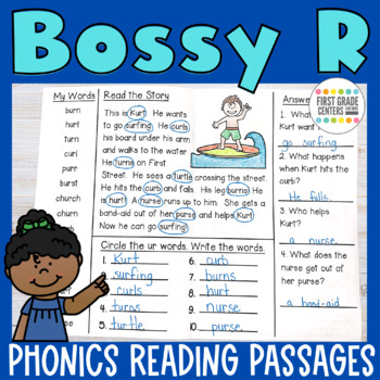 Bossy R Minibooks {ar, or, er, ir, ur}