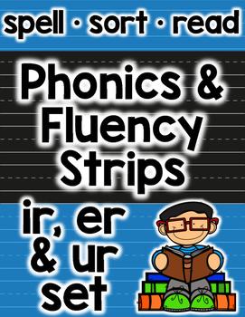 Bossy R Phonics and Fluency: er, ir, ur